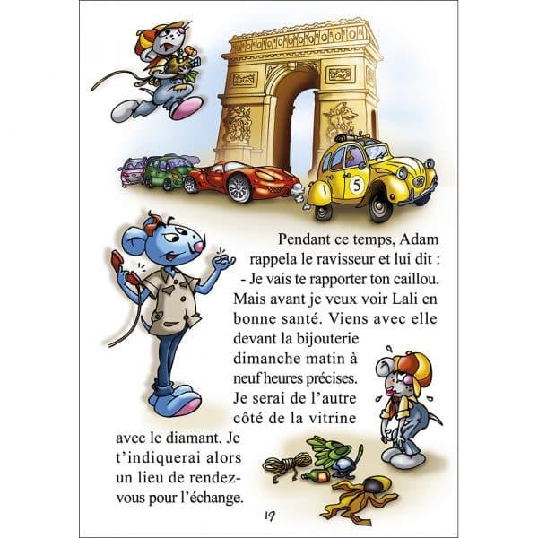 Page du livre sur Paris