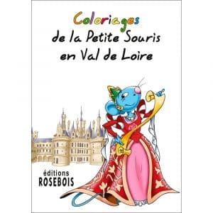 Coloriages de la Petite Souris en Val de Loire